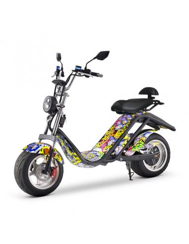 Ciclomotor eléctrico homologado para carretera 2000w